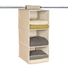 3-section Hanging Collapsible Closet Organizer