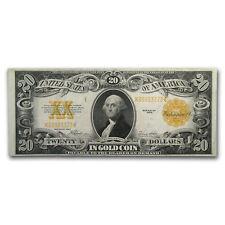 1922 $20 Gold Certificate XF