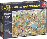 Jan Van Haasteren 1500 Piece Sealed Jigsaw Clash Of The Bakers JVH 19077