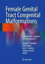 Female Genital Tract Congenital Malformations : Classification, Diagnosis and...
