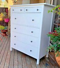Ikea Hemnes White chest of 6 drawers