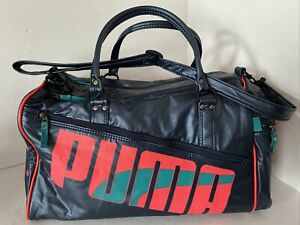 Vintage 90s Big Logo Puma Hold All Bag / Gym Or Sports Bag - Retro !