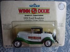 1990 Winn Dixie / Ertl 1:43 1932 Ford Roadster Collectible Vintage Vehicle