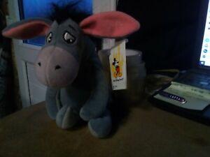 Walt Disney world Bean Bag Plush Eeyore new with all tags Box A