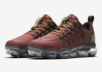 NIKE AIR VAPORMAX RUN UTILITY BURGUNDY AQ8811 600 SIZE UK 6 EUR 40 US 7
