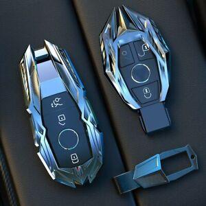 Car Key Case Cover For Mercedes Benz E C W204 W212 W176 GLC CLA GLA Accessories
