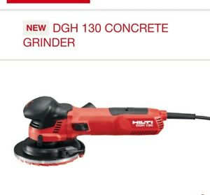 HILTI DGH 130 CONCRETE GRINDER Diamond grinder NEW!!