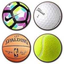 Golf - Football - Tennis - Basket Ball - Sports - Hobbies - Wooden Coasters X4