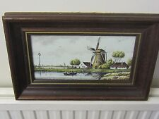 Westraven Ceramic Plate limited ed repro of an old master in Delfts polychroom