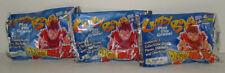 3 Dragonball Z Crazy Bones GoGo's Factory Sealed Packs Ages 4+