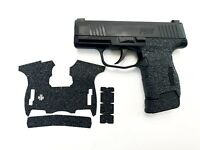 HANDLEITGRIPS Laser Cut Textured Rubber Gun Grip Wrap Parts SIG SAUER P365