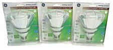 GE Energy Smart Outdoor Floodlight 90W Equivalent Par38 1300 Lumens 3 Pack CFL