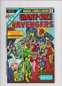 Giant Size Avengers #4 (June 1975, Marvel)