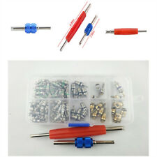 100 pcs Air Conditioning Valve Core Include Remover Tool Kit Maintainability