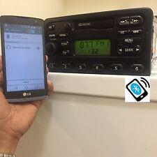 2000 2001 2002 FORD FOCUS OEM AM FM RADIO TAPE DECK BLUETOOTH PLAYER OEM STEREO