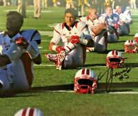 RUTGERS FOOTBALL RONNIE JAMES #5 SIGNED AUTOGRAPHED PHOTO CHRIS ASH  BIG TEN
