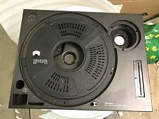 Technics SL1210 Mk2 Main Plate, Pcb Cover , Lead Weight And Rubber Base