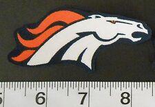 FREE SHIPPING NFL Denver Broncos Iron On Fabric Applique Patch Logo DIY Craft