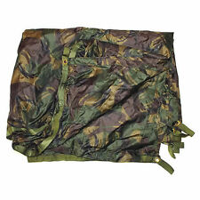 BRITISH ARMY DPM BASHA - USED - WATERPROOF SHELTER - ONE SIZE - WITH STUFF SACK