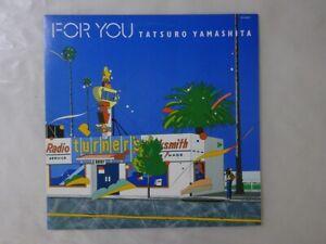 Tatsuro Yamashita For You Air RAL-8801 Japan   LP