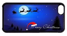 Cute Christmas Gift Santa Pattern Hard Back Case Cover For Apple iPod 4 5 6