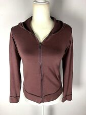 Patagonia Women's Size Small Mauve Organic Cotton Athletic Hoodie Long Sleeve