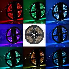 Waterproof 300Leds 5M RGB 5050 SMD LED Strip Light Flexible 12V Rope Lamp