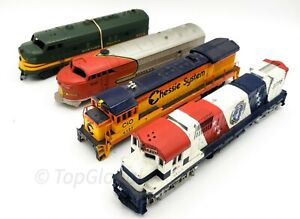 HO Scale Train Mix Diesel Locomotives Lot FOR FIX or REPAIR