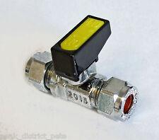 """GAS o liquidi VALVOLA A SFERA 8mm (5/16"""") 9620 di compressione"""