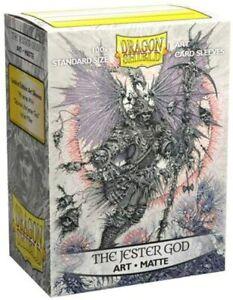 DRAGON SHIELD The Jester God 100 Matte CARD SLEEVES DECK PROTECTORS MTG