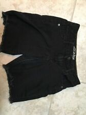 Old Navy Rock Star Ladies Women's Black Shorts Size 2