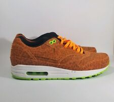 new concept c6a57 5f01f VNDS Nike Air Max 1 FB Orange Leopard AM1 Cheetah 579920 881 Sz 8 Rare Atmos