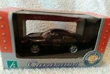 DIECAST MODEL CAR CARARAMA CLASSIC SPORTS CAR BLACK PORSCHE COUPE 1:43