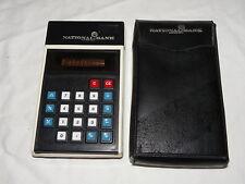 MBO TASCHENRECHNER 833ND NATIONAL-BANK ELEKTRONENRECHNER 833 ND CALCULATOR