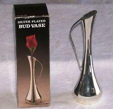 New listing Godinger 7 1/2 Inch Model 1581 Silver Plated Bud Vase , Excellent Shape