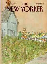 New Yorker COVER 08/27/1984 - Carnival is in Town - STEVENSON