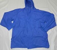 MENS POLYVINYL SHELL JACKET COAT LANDS END XL 46 48 lightweight windbreaker SA25