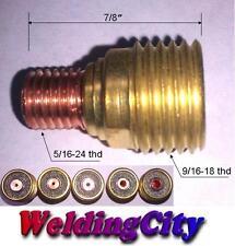 "5-pk TIG Welding Gas Lens Collet Body 45V43 1/16"" Torch 9/20 US Seller Fast Ship"