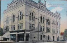 1911 Postcard - Svea Music Hall - Rockford, Illinois IL