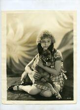 MITZI G LITTLE ORPHAN ANNIE 1932 CHILD STAR VINTAGE PHOTO T39