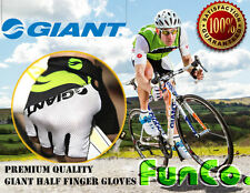 GIANT Cycling Bicycle Bike Sport MTB Half Finger Antiskid Silicone Gel Gloves