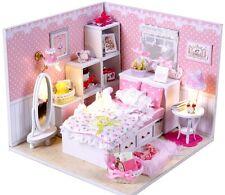 Dollhouse miniature kit - Room box,  Angel's Dream (M001)  w/music , furniture