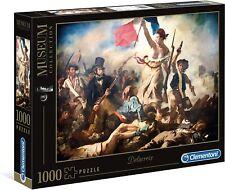 Puzzle Clementoni 1000 piezas Delacroix libertad
