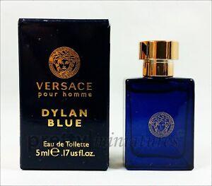 ღ Dylan Blue Homme - Versace - Miniatur EDT 5ml *Brandneu*