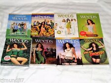 WEEDS THE COMPLETE SERIES, SEASONS 1-8, DVD, SHO, NEW & SEALED W/SLIPCOVERS!