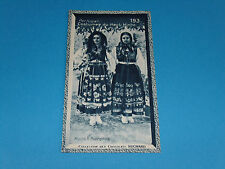 CHROMO PHOTO CHOCOLAT SUCHARD 1934 EUROPE PORTUGAL COSTUMES DU HAUT MINHO