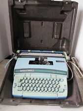 Old Vintage Blue Smith Corona Coronet Cartridge 12 Typewriter