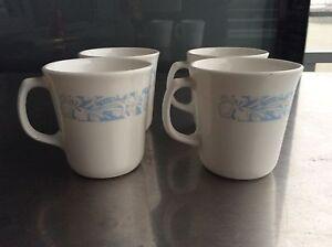 vintage corning ware corelle M'wave OK Mugs Cups