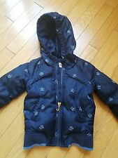 EUC Juicy Couture girls down hooded jacket size 8
