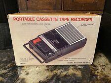 Vintage Kmart Cassette Recorder Player Combo Model 06-33-14 New In Box